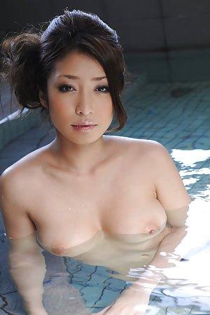 Asian in Pool